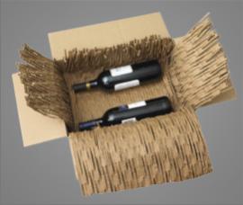 Recyklovaná kartonová výplň